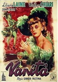 Vanity (1947 film) movie poster