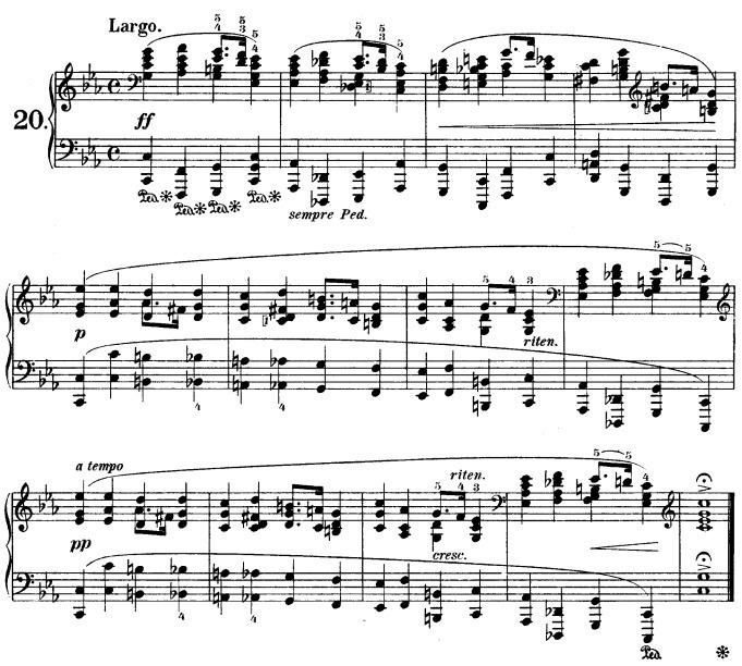 Variations on a Theme of Chopin (Rachmaninoff)