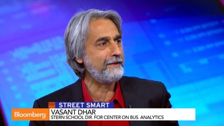 Vasant Dhar Vasant Dhar on Bloomberg TV Is Technology Destroying Jobs NYU