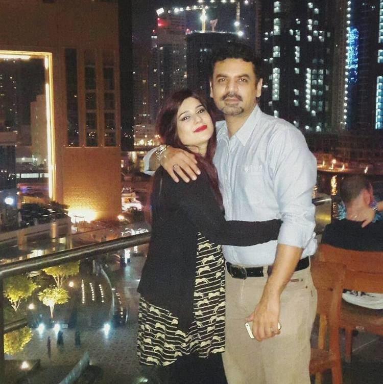 Vasay Chaudhry Vasay Chaudhry With His Wife Mahera Arts amp Entertainment Images