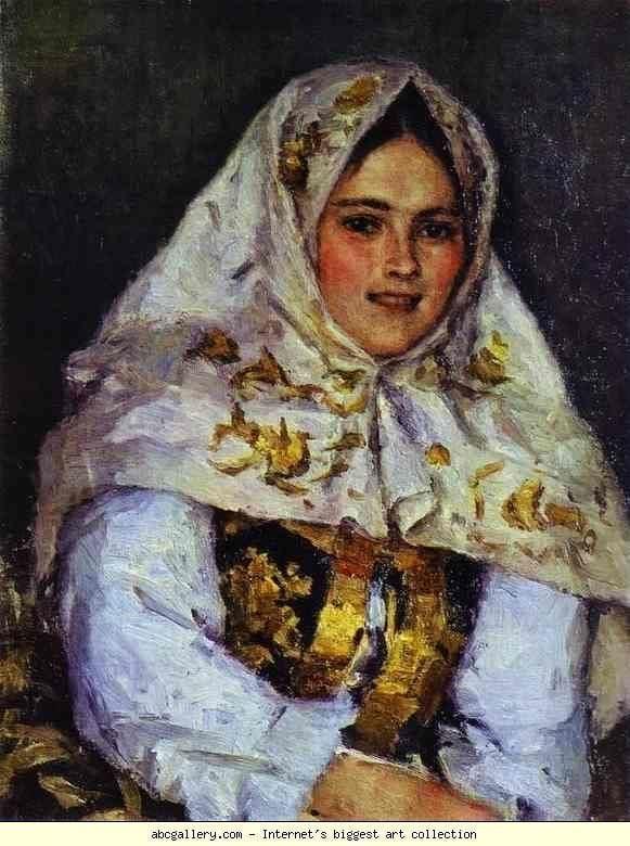 Vasily Surikov Vasily Surikov Siberian Beauty Portrait of Ye A