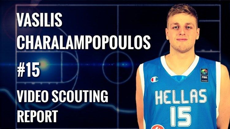 Vassilis Charalampopoulos (basketball) Vasilis Charalampopoulos scouting report 2014 YouTube