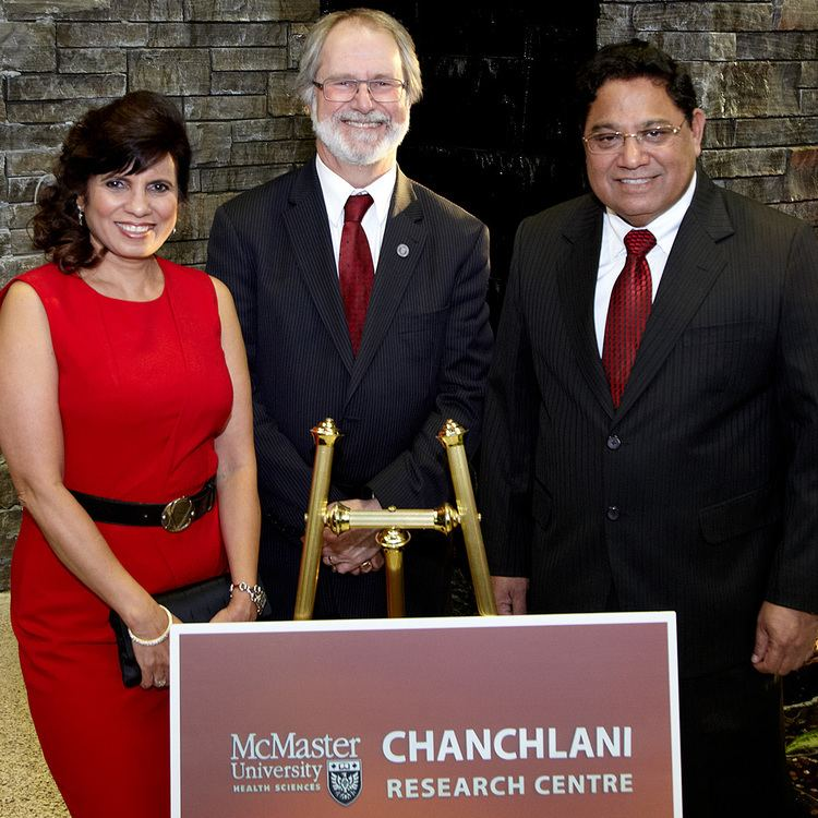 Vasu Chanchlani Health of diverse populations is focus of new Chanchlani Research Centre