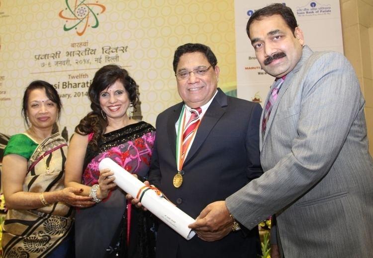 Vasu Chanchlani Indo Canada Chamber of Commerce ICCC Nominee Vasu Chanchlani
