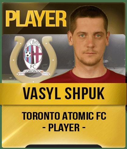 Vasyl Shpuk Vasyl Shpuk Toronto Atomic FC