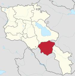 Vayots Dzor Province Wikipedia