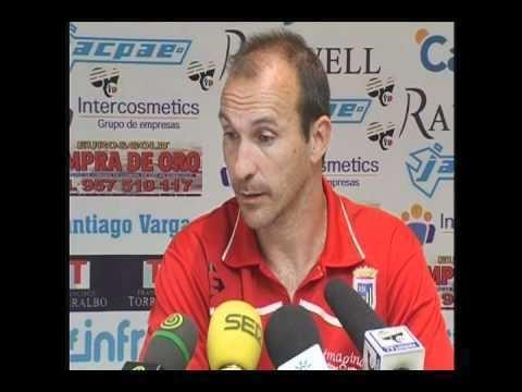 Víctor Torres Mestre Rueda de prensa de Vctor M Torres Mestre Lucena CF CD Badajoz