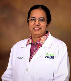 Veena Anand Veena Anand MB HealthPoint Pediatrics