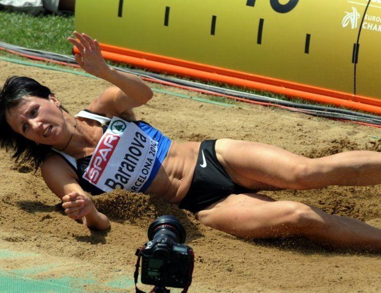 Veera Baranova Kolmikhppaja Veera Baranova paremat tulemust oli raske loota Sport