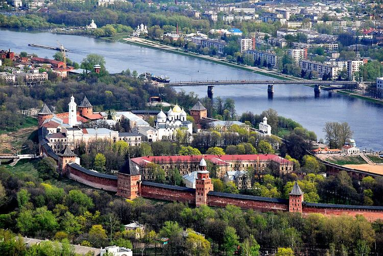 The City of Veliky Novgorod Russia