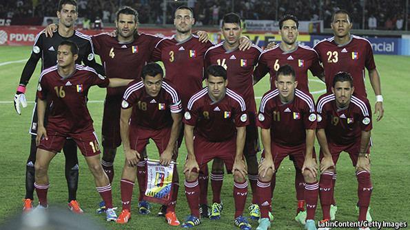 Venezuela national football team La vinotinto South America39s footballing exception The Economist