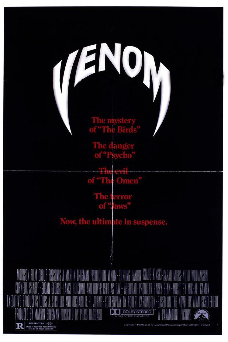 Venom (1981 film) wwwgstaticcomtvthumbmovieposters40465p40465