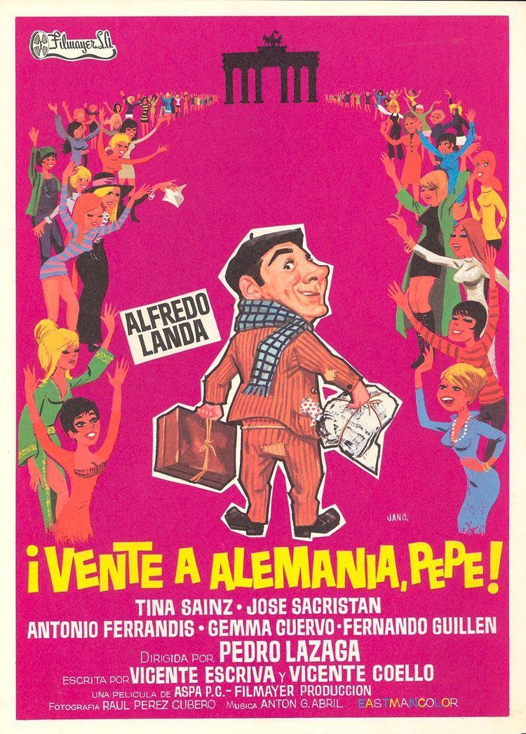 Vente a Alemania, Pepe Vente a Alemania Pepe Pelcula 1971 SensaCinecom