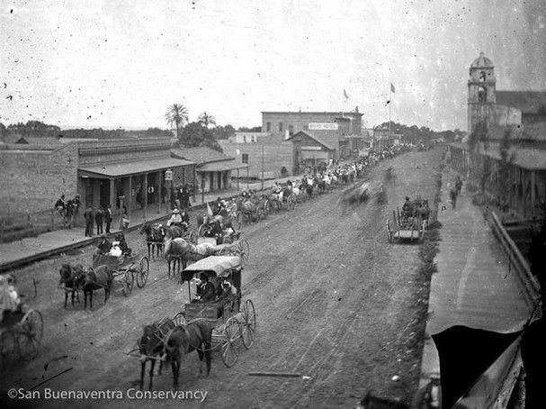 Ventura, California in the past, History of Ventura, California