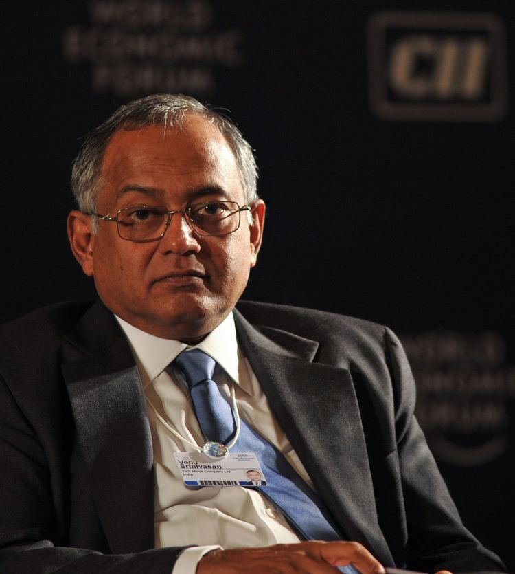 Venu Srinivasan FileVenu Srinivasan at the India Economic Summit 2009