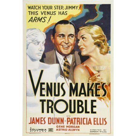 Venus Makes Trouble From Left James Dunn Patricia Ellis 1937 Movie