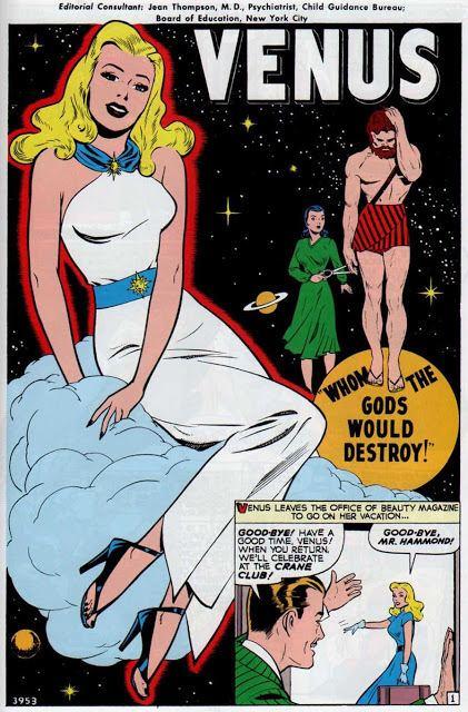 Venus (Marvel Comics) TimelyAtlasComics VENUS Vol 1 Atlas Era Masterworks Issues 19