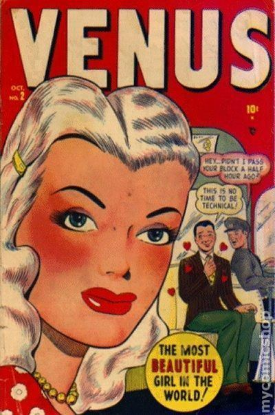 Venus (Marvel Comics) Venus 1948 Marvel comic books