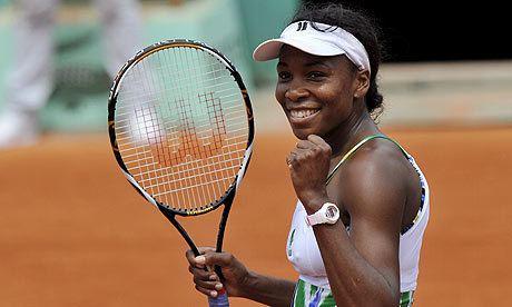 Venus Williams A Closer Look at Venus Williams Senior Sport