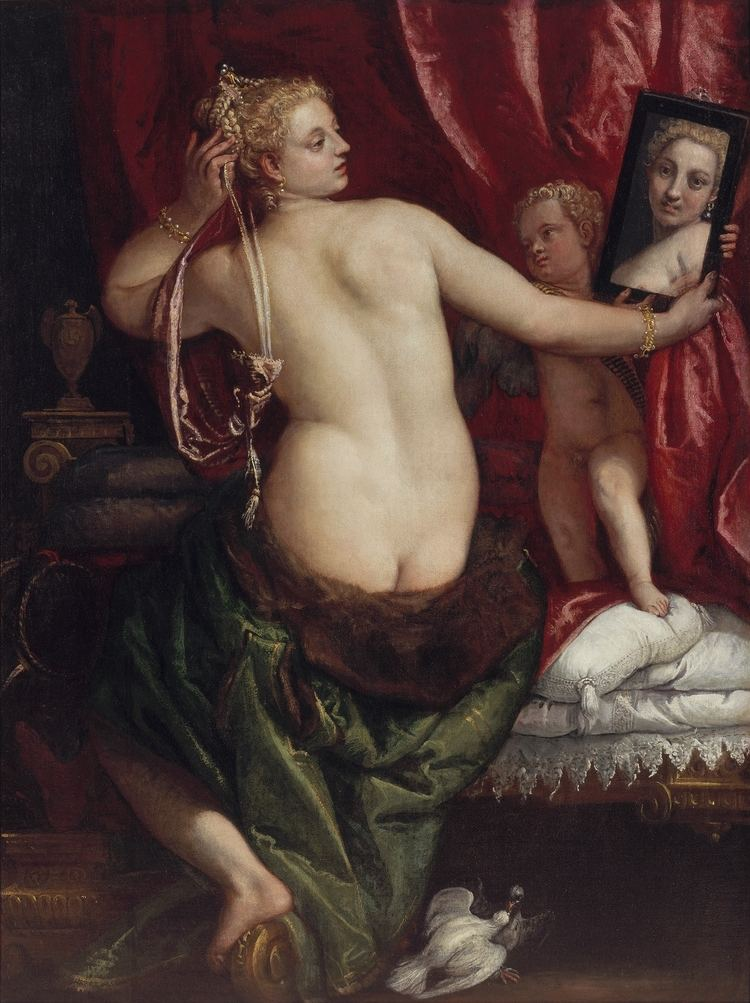 Venus with a Mirror FilePaolo Veronese Venus with a Mirrorjpg Wikimedia Commons