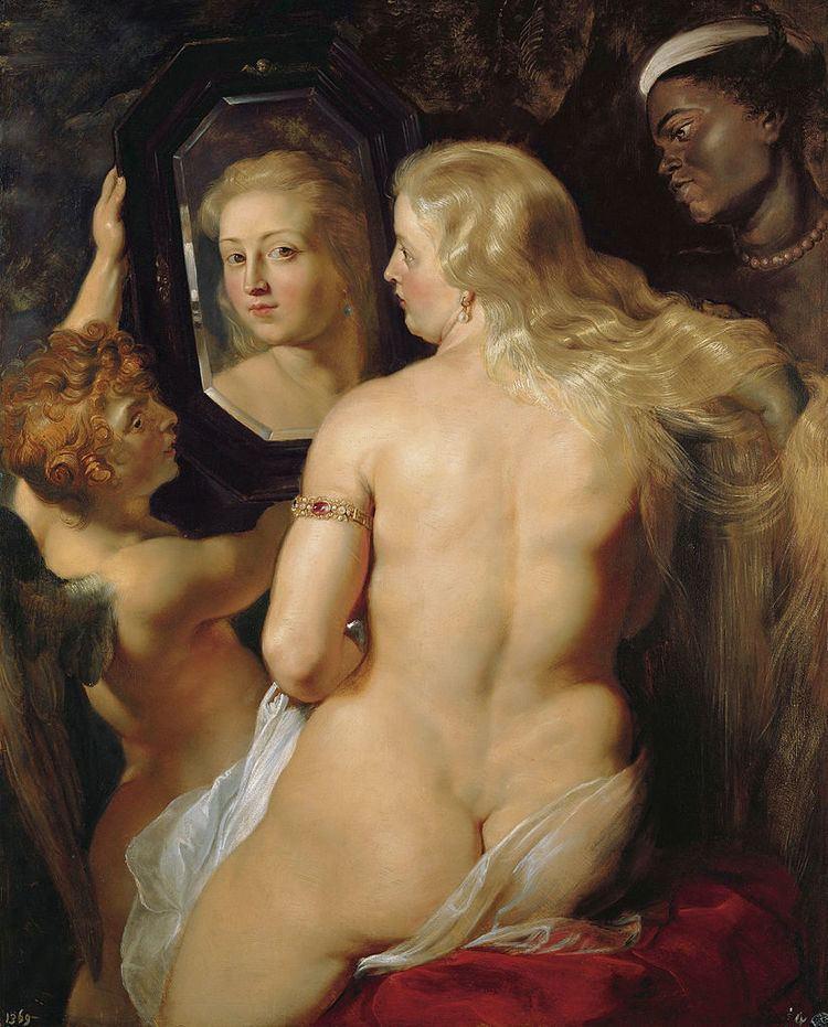 Venus with a Mirror FileRubens Venus at a Mirror c1615jpg Wikimedia Commons