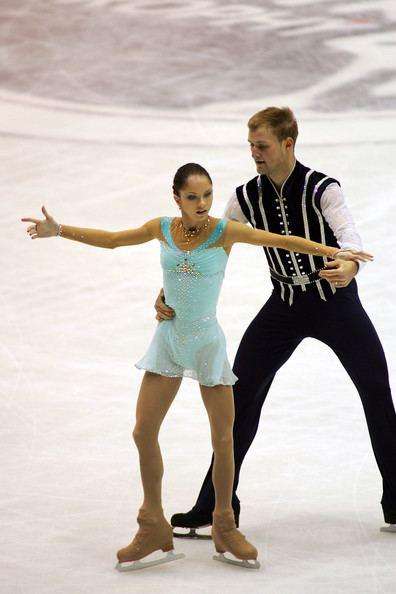Vera Bazarova Vera Bazarova and Yuri Larionov Photos ISU Grand Prix