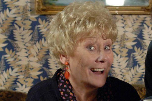 Vera Duckworth Liz Dawn Vera Duckworth rushed to hospital following heart attack