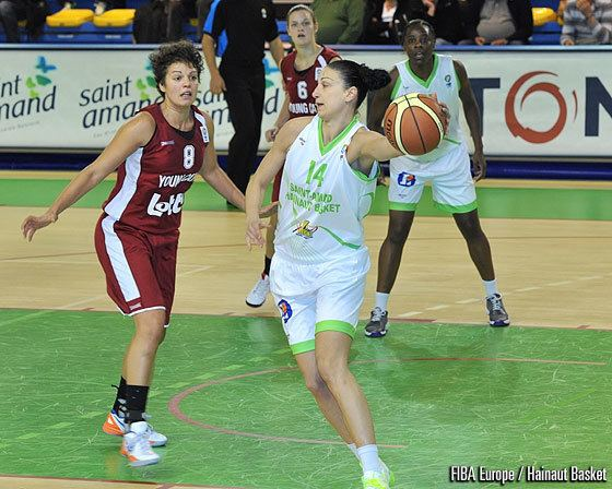 Vera Perostiyska Vera Perostiyska EuroCup Women 2016 FIBA Europe
