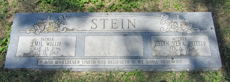 Vera Reitzer Helen Vera Reitzer Stein 1912 1985 Find A Grave Memorial