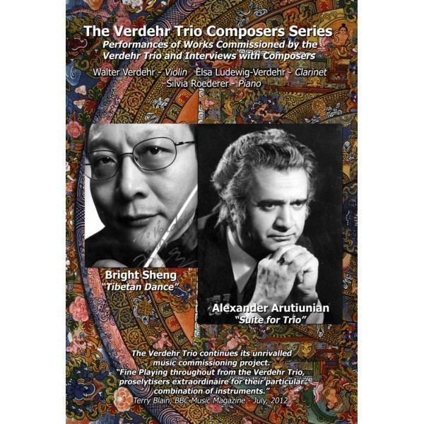 Verdehr Trio The Verdehr Trio Composers Series Number V DVD Verdehr Trio