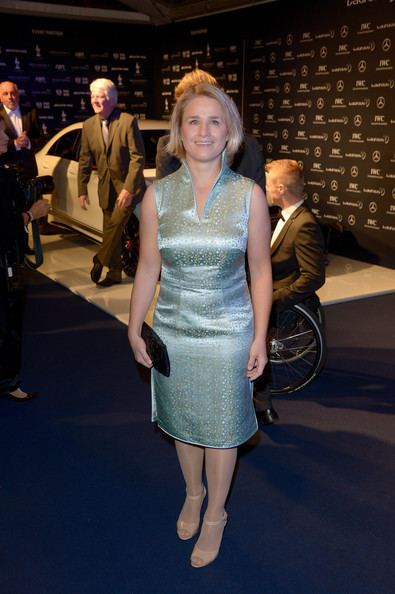 Verena Bentele Verena Bentele Pictures Arrivals at the Laureus Media