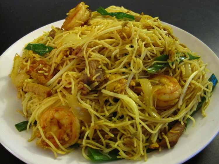 Vermicelli Singapore Fried Vermicelli Recipe Cooking with Alison