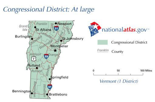 Vermont's congressional districts