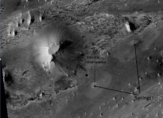 Vernal (crater)
