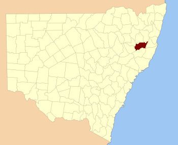 Vernon County, New South Wales