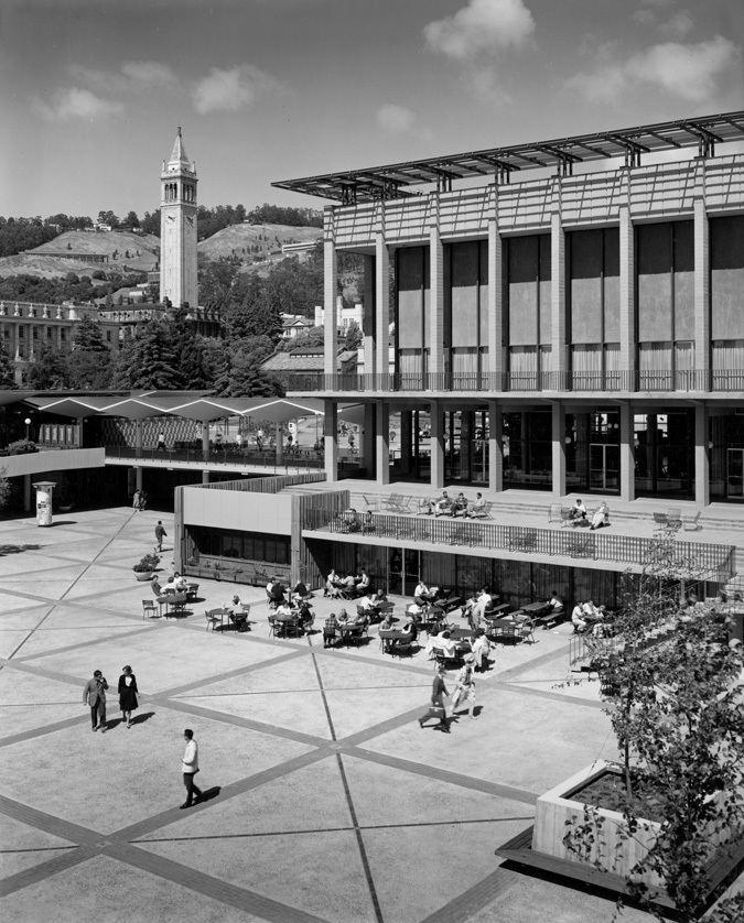 Vernon DeMars THE STUDENT UNION 1960 DESIGNED BY VERNON DEMARS DONALD HARDISON