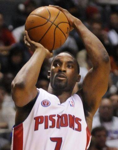 Vernon Macklin Detroit Pistons Links Ben Gordon and Vernon Macklin dish