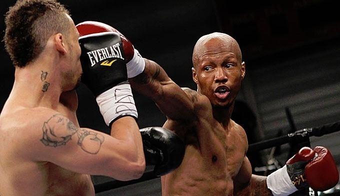 Vernon Paris Fight Zab Judah W TKO 9 12 Vernon Paris Boxing news