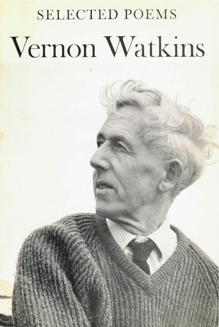 Vernon Watkins New Directions Publishing Company Vernon Watkins