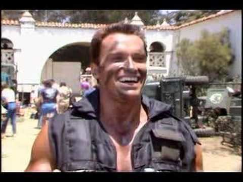 Vernon Wells (actor) Commando Arnold on Vernon WellsBennett YouTube