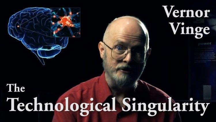 Vernor Vinge Vernor Vinge on the Technological Singularity YouTube