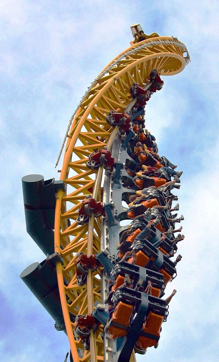 Vertical Velocity (roller coaster) Vertical Velocity Six Flags Great America