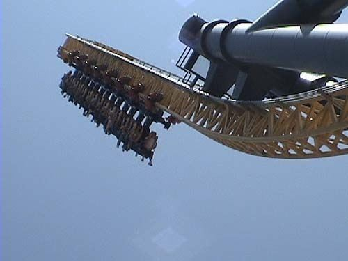 Vertical Velocity (roller coaster) Vertical Velocity Roller Coaster Photos Six Flags Great America