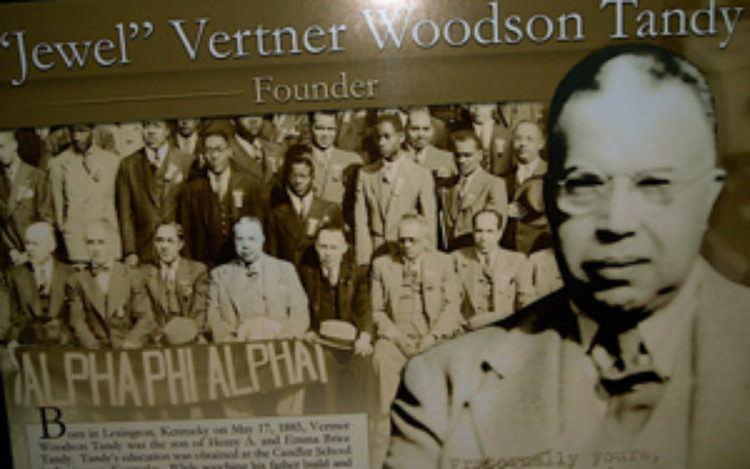 Vertner Woodson Tandy Vertner Woodson Tandy First Black Registered Architect in New York