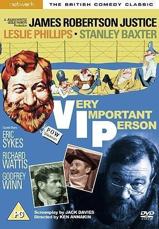 Very Important Person (film) Very Important Person 1961 Movie Review Buy UK Dvd