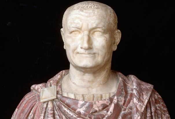 Vespasian Bust of Vespasian Biblical Archaeology in Rome Bible