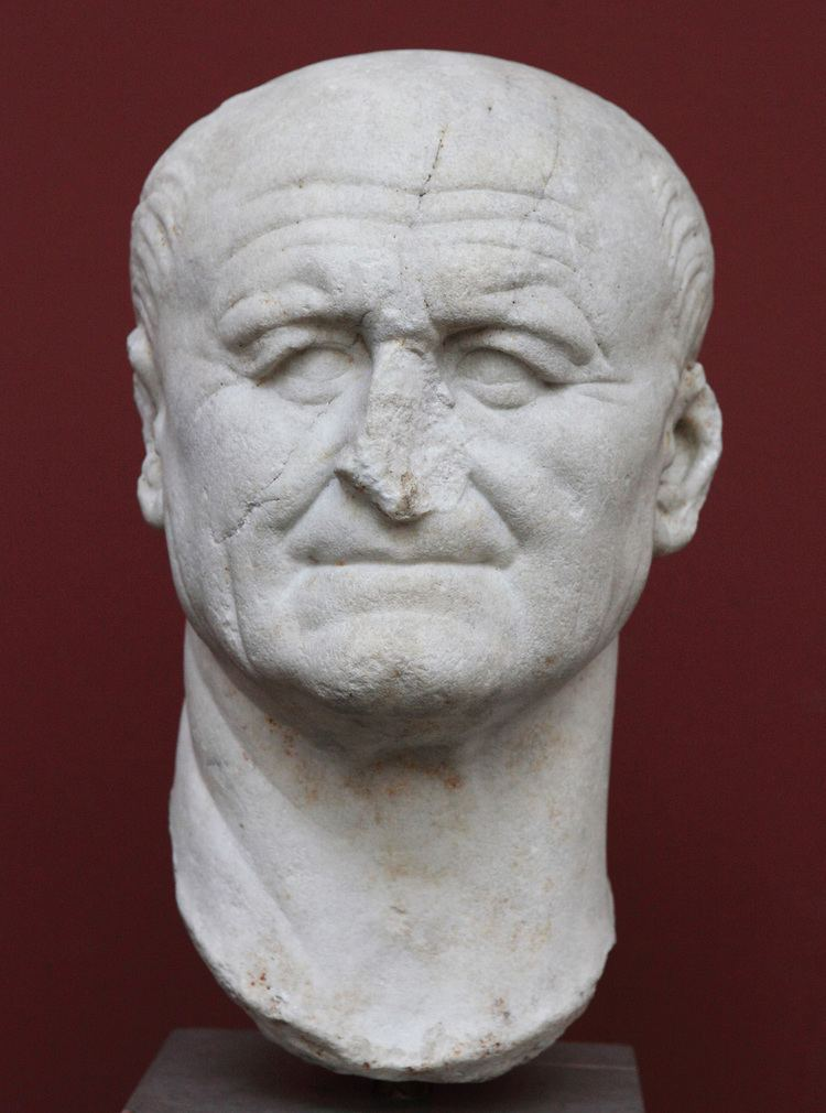 Vespasian Portrait of Vespasian Copenhagen New Carlsberg Glyptotek