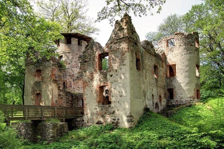 Veste Landskron Burgruine Veste Landskron Schne Orte in MecklenburgVorpommern