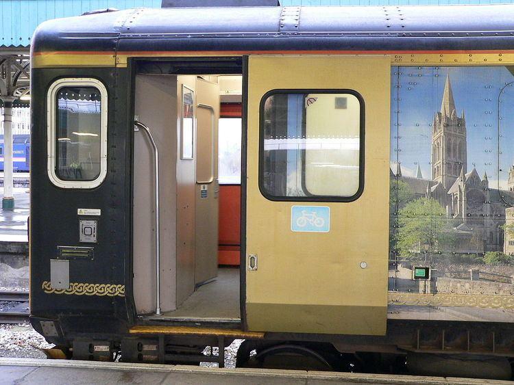 Vestibuled train