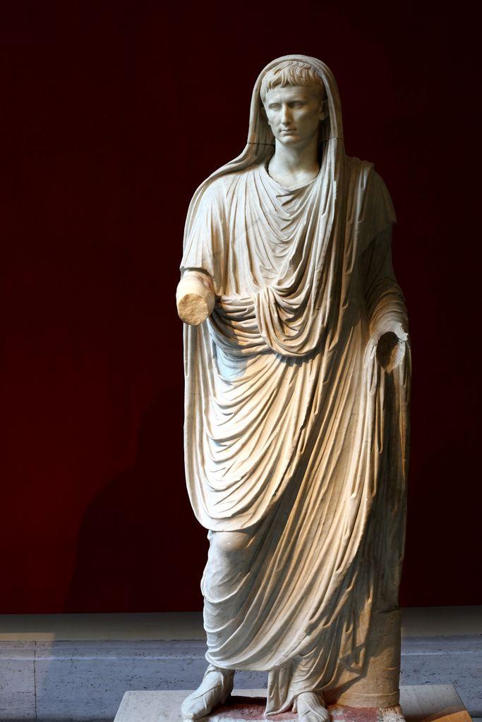 Via Labicana Augustus Augustus as Pontifex Maximus or Via Labicana Augustus Flickr